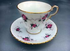 Princess House Hammersley Fine Bone China Tea Cup & Saucer Set~The Windsor ROSE