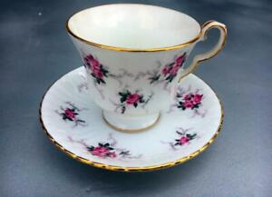 Princess House Hammersley Fine Bone China Tea Cup & Saucer Set~The Windsor ROSE