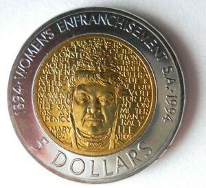 1993 AUSTRALIA 5 DOLLARS - AU/UNC - Great Uncommon Coin - Lot #A10