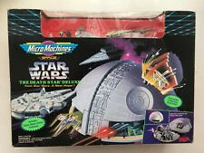 STAR WARS GALOOB MICRO MACHINES THE DEATH STAR DELUXE MINI ACTION FIGURE SET