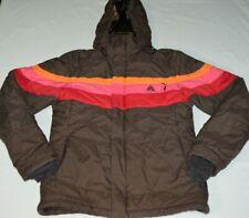 Nike ACG Storm Fit Women's Ski Snowboarding Jacket Snow Coat Small Brown Retro