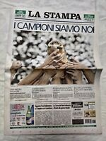 LA STAMPA 10 LUGLIO 2006 GERMANY MONDIALI ITALIA CAMPIONE COPPA DEL MONDO