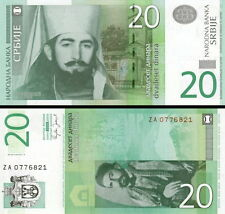 SERBIA - 20 dinar 2006 ZA Replacement UNC FDS