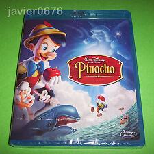 PINOCHO CLÁSICO DISNEY NÚMERO 2 BLU-RAY NUEVO Y PRECINTADO