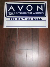 General Business Sign: AVON  w/Contact Phone Number