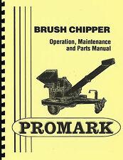 Promark/Gravely 210 Brush Chipper Owner's Manual