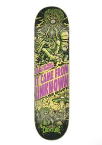 """CREATURE SKATEBOARDS - GRAVETTE WICKED TALES 8.3"""" INCH X 32.2"""" INCH DECK NEW"""