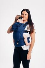 Ergonomic baby carrier Baby size Lennylamb colour COBALT