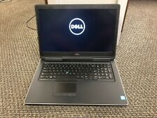 Dell Precision 7710 i7-6920HQ 2.7GHz 8GB RAM --TWO 512 samsung SSD hard drives