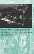 Books and Their Readers in 18th Century England Volume 2 (2003, UK-Paperback)