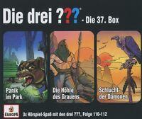 DIE DREI ??? - 37/3ER BOX (FOLGEN 110,111,112)  3 CD NEU