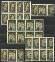 DEALER STOCK SAN MARINO MNH 1972 Botticelli Paintings 3v 10 SETS s32679