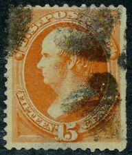US 1879 #189 - 15c Webster Orange Used VF-XF