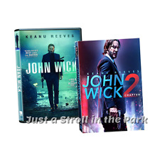 John Wick: Complete Keanu Reeves Movies Series 1 & Chapter 2 Box / DVD Set(s)