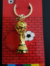 1pc 2018 FIFA World Cup Soccer Keychain Key Chain Keyring Pendant Good Quality