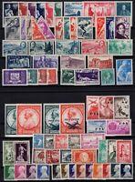 PP137574/ MONACO – YEARS 1945 - 1949 MINT MNH / MH SEMI MODERN LOT – CV 151 $