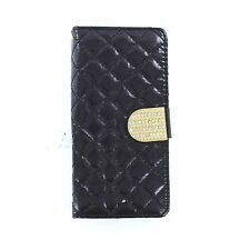 Diamond Luxury Bling Wallet Flip Card Case Cover For Samsung Galaxy S8 & S8 Plus