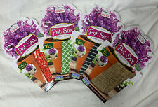 """New Pot Sox 6"""" Stretchable Fabric Planter Cover ~ Lot Of 4"""