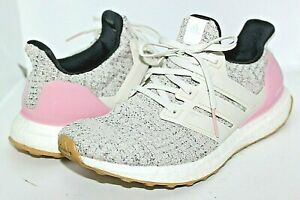 WOMENS ADIDAS ULTRABOOST 4.0 J CARBON TRUE PINK F34033 SHOES SNEAKERS SIZE 7