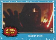 Star Wars Journey To The Force Awakens Base Card #96 Master of evil