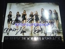 After School Single Album Flashback CD Autographed Signed Promo Orange Caramel