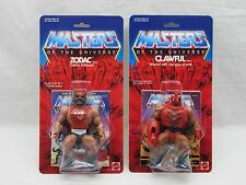 MOTU,Commemorative ZODAC & CLAWFUL,sealed,MOC,Masters of the Universe,He Man
