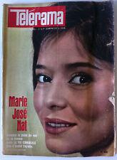 Télérama 09/06/1963; Marie José Nat et Jacques Charrier/ 24 h du Mans/ Romani