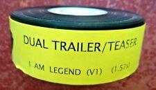 I AM LEGEND 35mm FILM TRAILER Movie Cinema Reel Cell Sci-fi Will Smith Cert PG