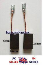 Carbone Balais Pour SPIT MARTEAU PERFORATEUR 490 6X16X26mm brosse OUTILS