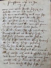 ASTROLOGIE WAHRSAGEN VORHERSEHEN HANDSCHRIFT AUTOGRAPH LEONHARD THURNEISSER 1571