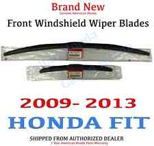 Genuine OEM Honda Fit Front Windshield Wiper Blades 2009-2013