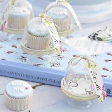 TRULY ALICE in Wonderland Tea/Birthday/Wedding Party MINI CAKE DOMES