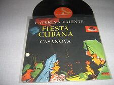 CATERINA VALENTE 78 TOURS GERMANY FIESTA CUBANA.