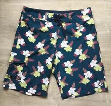"HSD KIRRA Australia Mens Floral Pattern Board Surf Shorts Size 33 W / 20"" (M)"