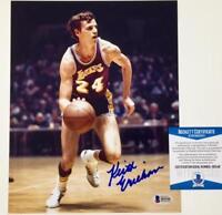 KEITH ERICKSON Autograph 1972 LAKERS Signed 8x10 Photo ~ BAS Beckett Witness COA