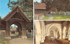 BR66905 the  yew tree the lych gate  uk  14x9cm