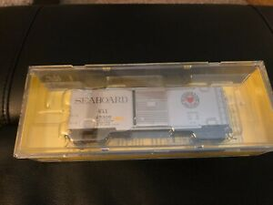 Kadee SAL Seaboard Road #25300 40' PS-1 Boxcar Ho Model Train Silver 5103