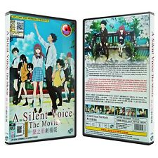 A SILENT VOICE THE MOVIE ANIME DVD ENGLISH DUBBED