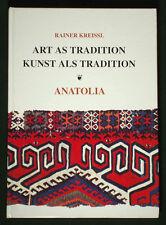 BOOK Anatolian Kilims Turkish weaving carpet rug tribal village folk art TURKEY