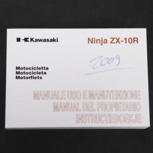 Manuell Von Eigner Benutzer origine Kawasaki Motorrad 1000 ZX10R 99976-1486