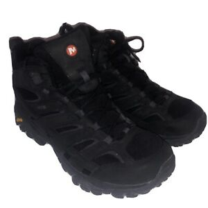 Merrell Men's Moab 2 Vent Hiking Shoe, Black Night,9.5