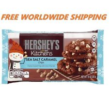 Hershey's Kitchens Sea Salt Caramel Chips 10 Oz FREE WORLDWIDE SHIPPING