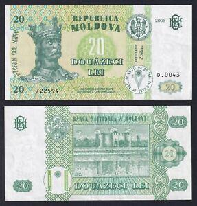Moldavia 20 lei 2005 SPL+/XF+  C-07