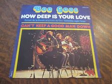 """45 tours BEE GEES how deep is your love B.O. du film """"saturday night fever"""""""