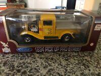 Road Legends 1934 FORD PICKUP PRO STREET Orange 1:18 Diecast Truck / Car