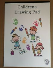 A3 CHILDRENS DRAWING / PAINTING PAD 20 SHEETS RECYCLED 90 GSM PAPER