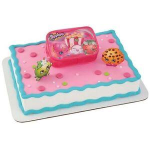 NEW SHOPKINS OFF TO SHOPPING CAKE KIT SET