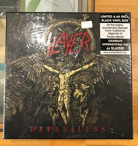 SLAYER - REPENTLESS - BOX SET VINYL 6 X 6.1/2 - LIMITED NUMBERED - NUOVO/SEALED