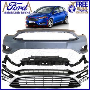 FORD FOCUS 2014-2017 MK3.5 FRONT BUMPER COVER TITANIUM KIT F1EB-17757 F1EB-8200
