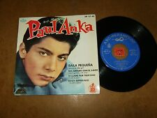 PAUL ANKA - EP SPAIN ABC HISPA VOX 9740  - LISTEN - TEEN POPCORN